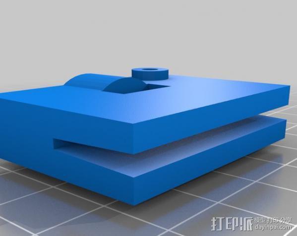 印刷电路板 工作台 3D模型  图2