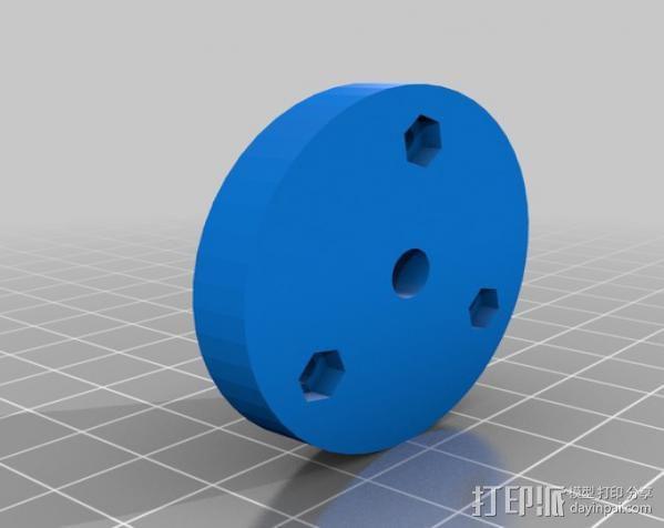 印刷电路板 工作台 3D模型  图3