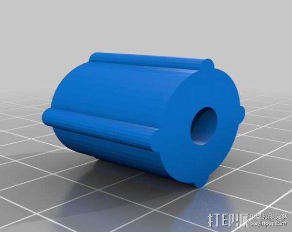 印刷电路板 工作台 3D模型  图5