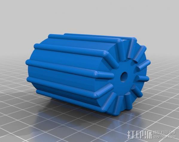 印刷电路板 工作台 3D模型  图6