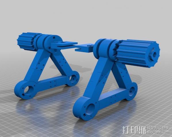 印刷电路板 工作台 3D模型  图7