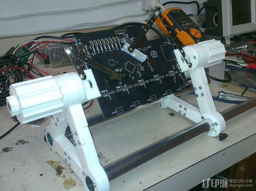 印刷电路板 工作台 3D模型  图8
