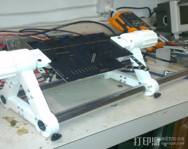 印刷电路板 工作台 3D模型  图9