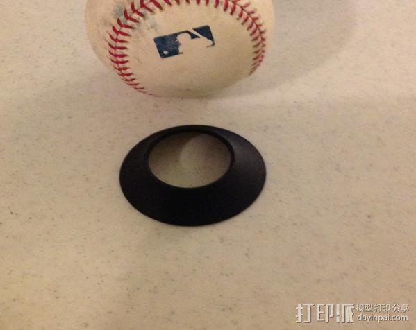 棒球展示架 3D模型  图5