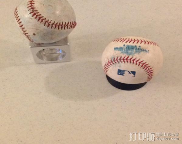 棒球展示架 3D模型  图4
