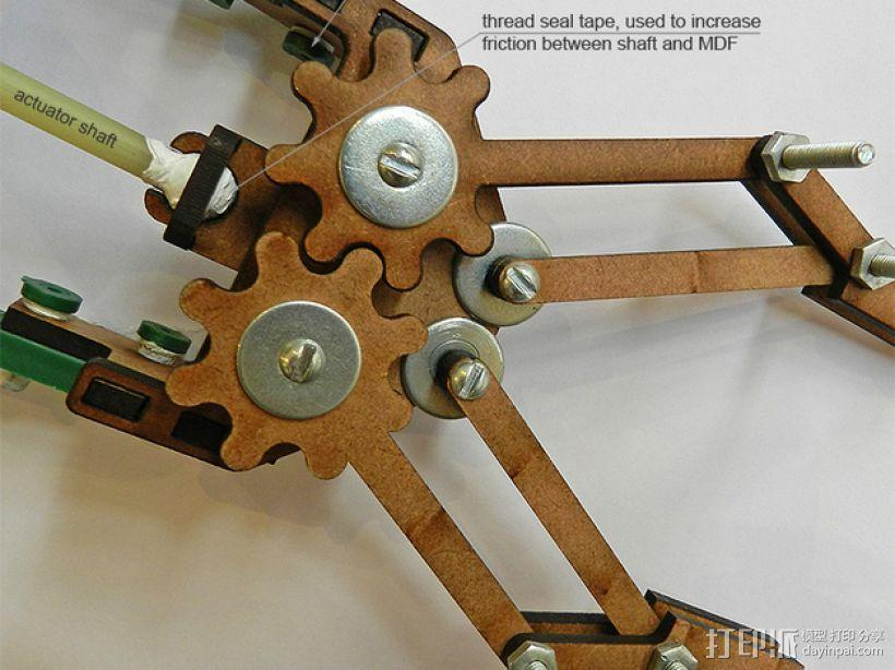 机械抓手 3D模型  图1