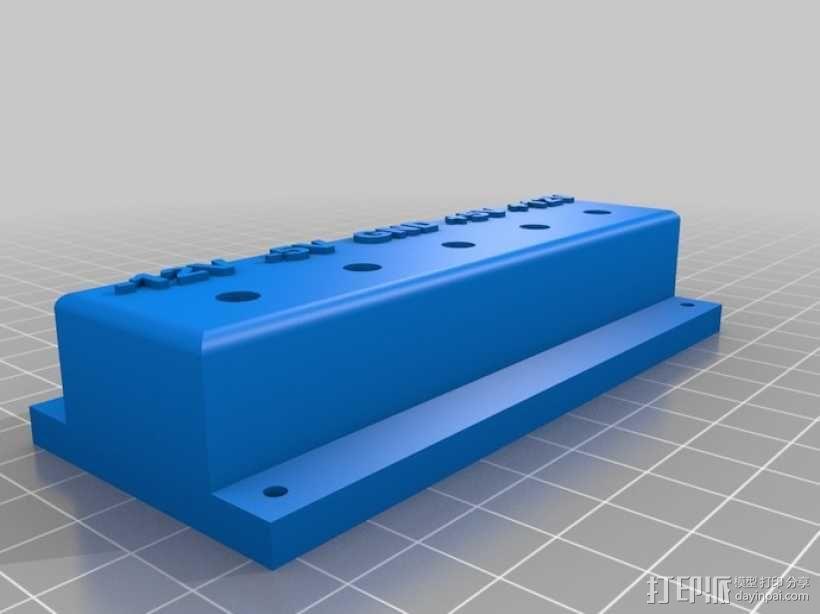电源面板 3D模型  图1