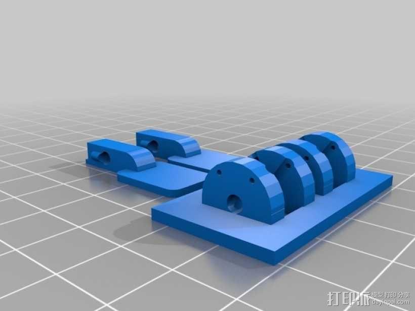 参数化开关面板 3D模型  图1