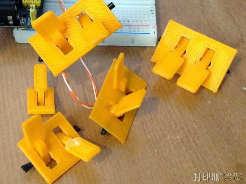 参数化开关面板 3D模型  图2