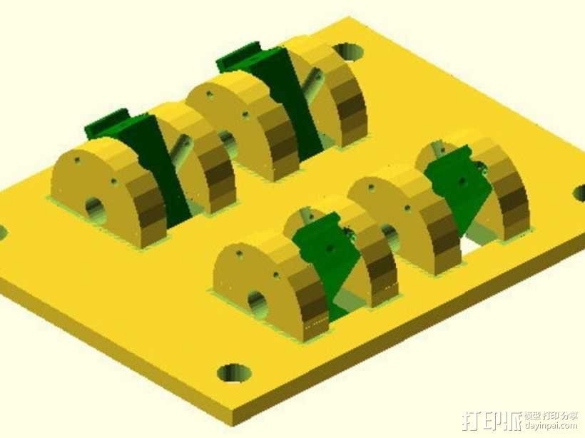 参数化开关面板 3D模型  图4