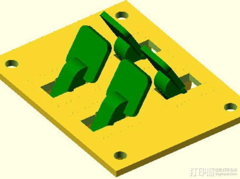 参数化开关面板 3D模型  图3