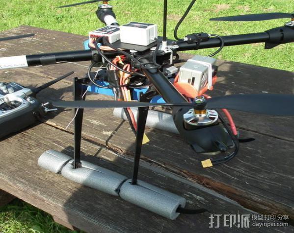 gopro hero 2相机支架 3D模型  图2
