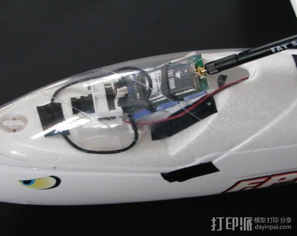 FPVRaptor航拍飞机FPV支架 3D模型  图2