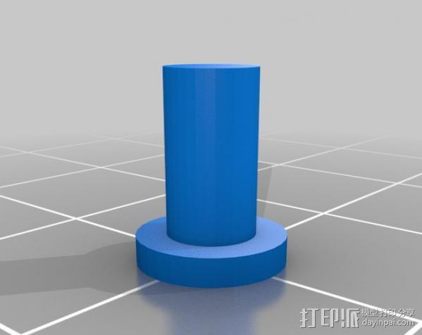 FPVRaptor航拍飞机FPV支架 3D模型  图7