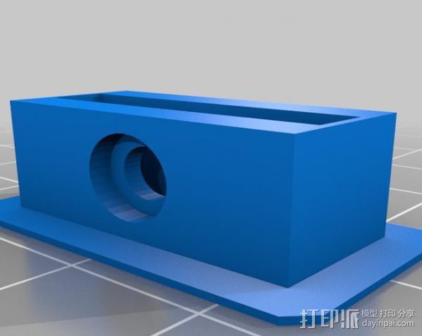 FPVRaptor航拍飞机FPV支架 3D模型  图8