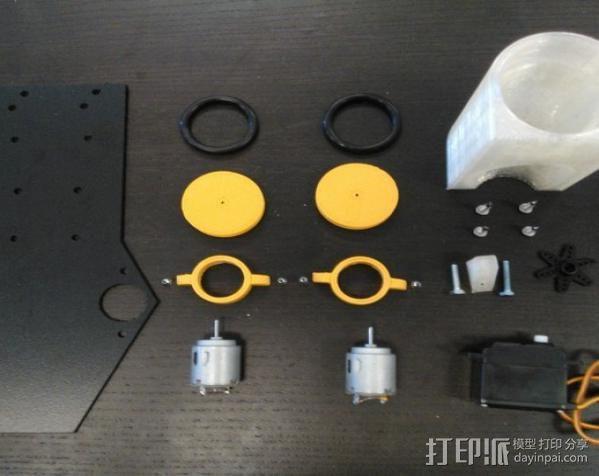 乒乓球发射器 3D模型  图4