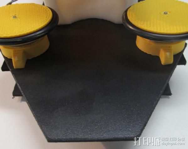 乒乓球发射器 3D模型  图2