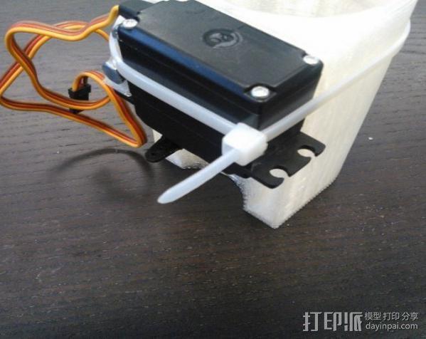 乒乓球发射器 3D模型  图8