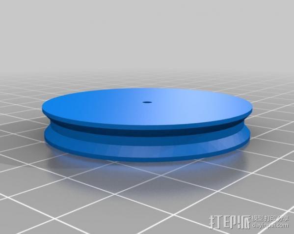 乒乓球发射器 3D模型  图28