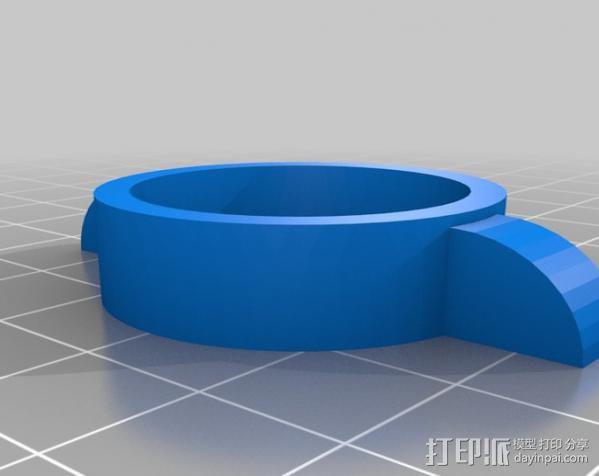 乒乓球发射器 3D模型  图27