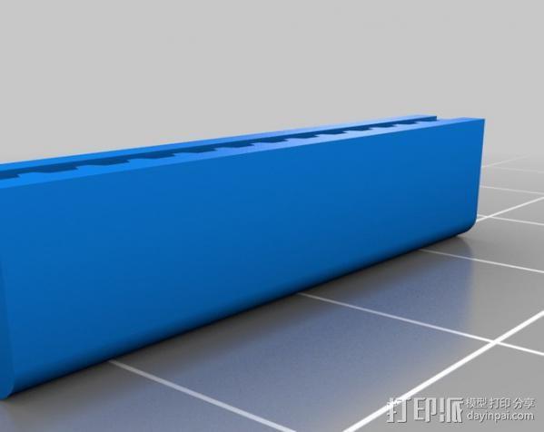 正时皮带 耦合器 3D模型  图1