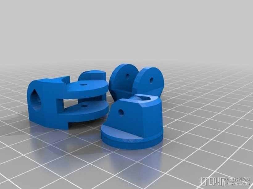 Inmoov机器人 手掌 3D模型  图1