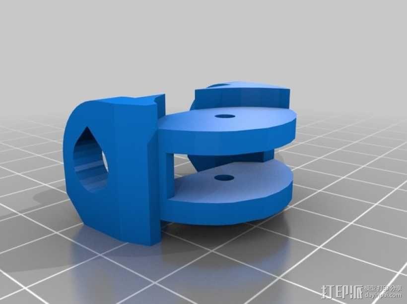Inmoov机器人 手掌 3D模型  图2