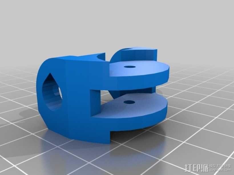 Inmoov机器人 手掌 3D模型  图3
