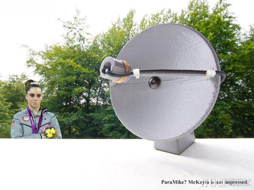 ParaMike抛物面传声器 3D模型  图1