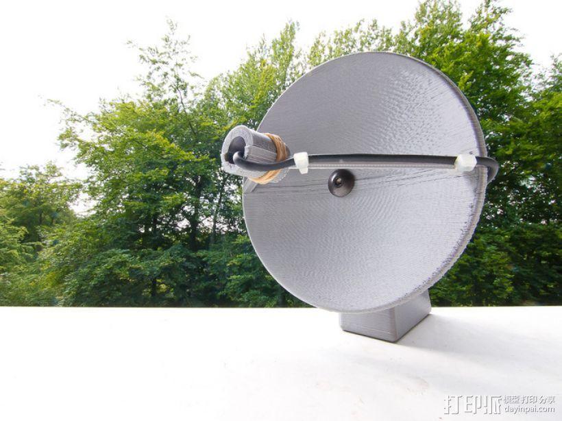 ParaMike抛物面传声器 3D模型  图2