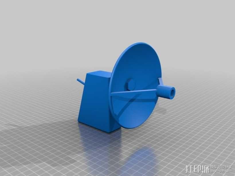ParaMike抛物面传声器 3D模型  图4
