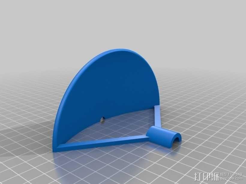 ParaMike抛物面传声器 3D模型  图5