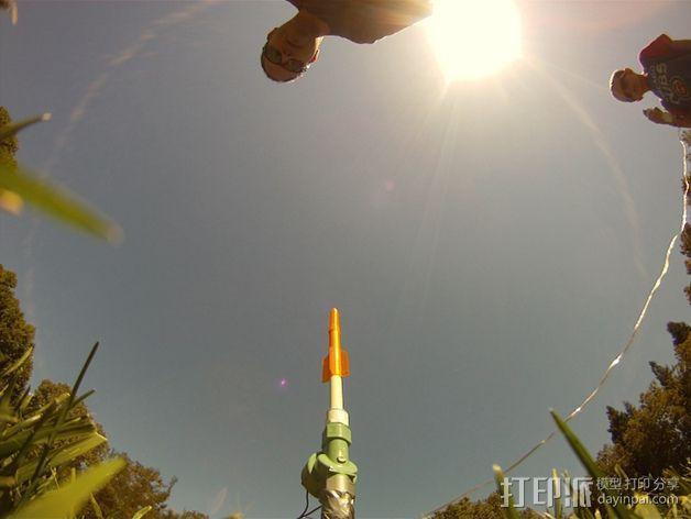 空气压缩火箭 3D模型  图6