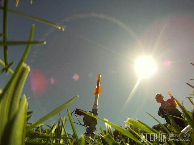 空气压缩火箭 3D模型  图10