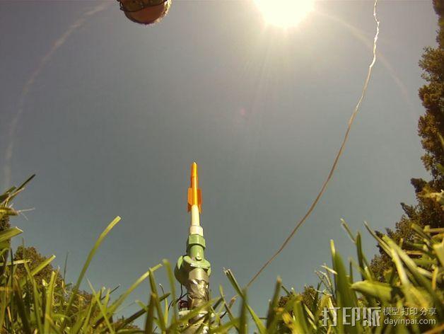 空气压缩火箭 3D模型  图9