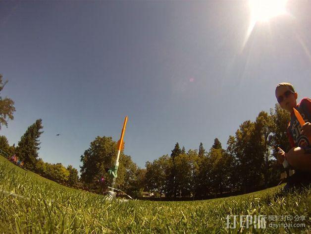 空气压缩火箭 3D模型  图11