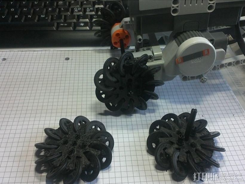麦克纳姆轮 3D模型  图2
