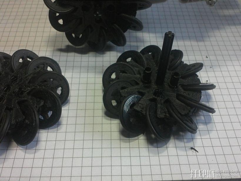 麦克纳姆轮 3D模型  图1