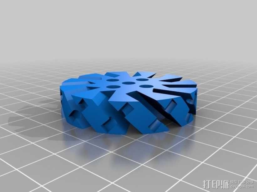 麦克纳姆轮 3D模型  图5