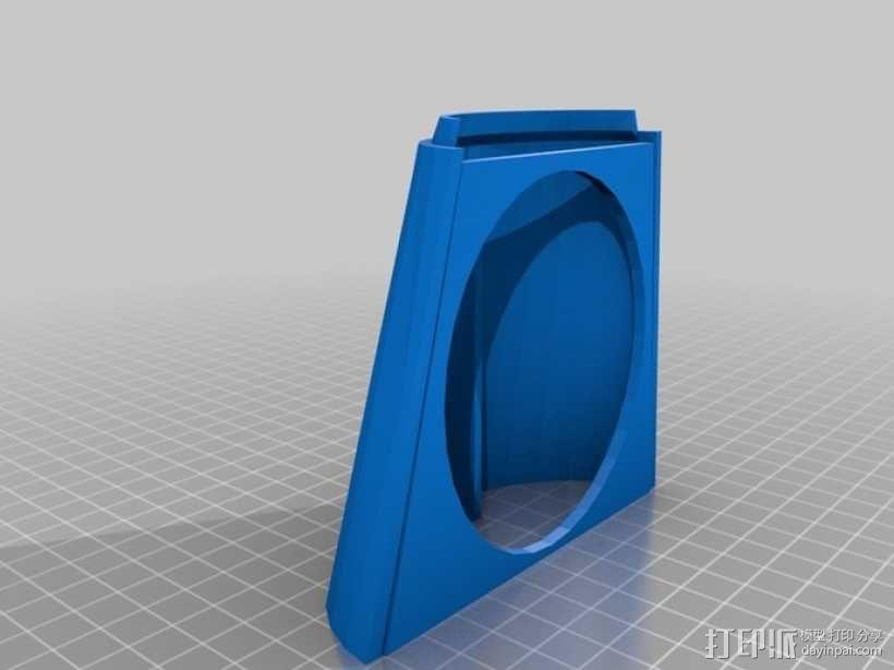 InMoov机器人手部 伺服支架 3D模型  图7