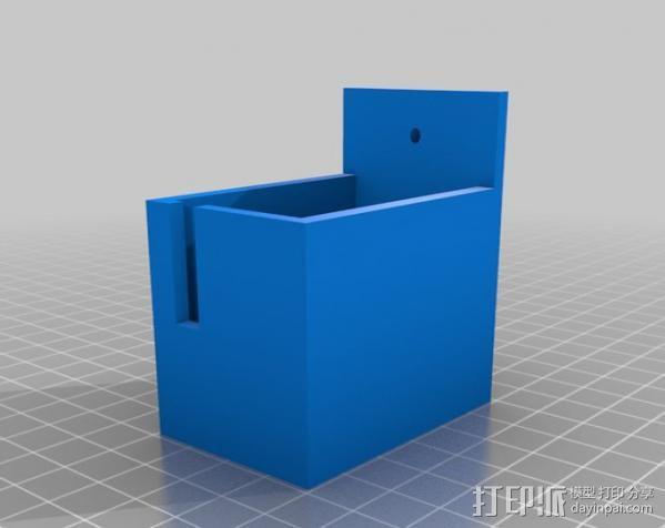 定制化遥控飞机 轮胎支架 3D模型  图4