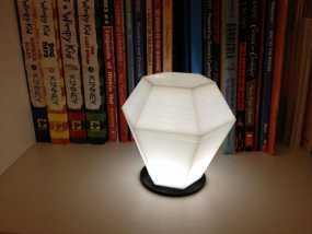 钻石形LED台灯 3D模型