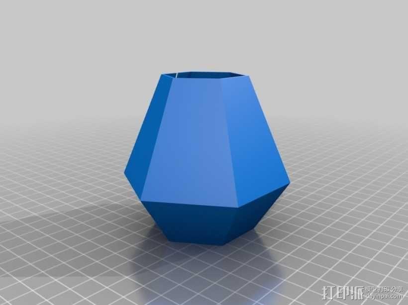 钻石形LED台灯 3D模型  图7
