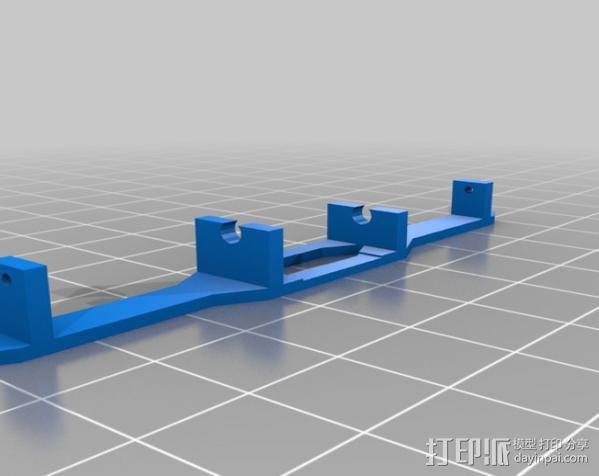 spektrum ar7000接收机 天线支架 3D模型  图1