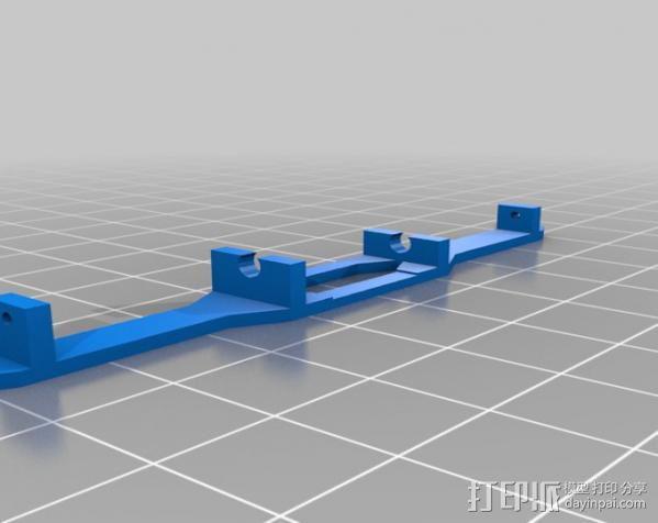spektrum ar7000接收机 天线支架 3D模型  图2