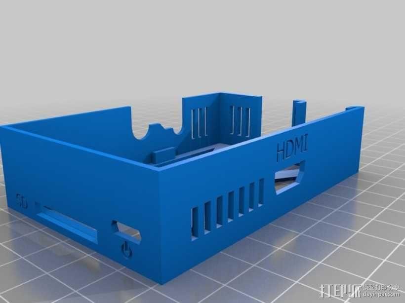 树莓派外壳 3D模型  图16