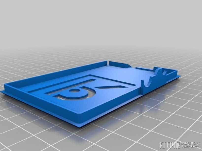 树莓派外壳 3D模型  图17