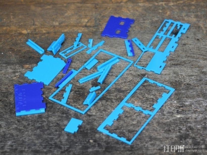 arduino试验电路板外壳  3D模型  图4