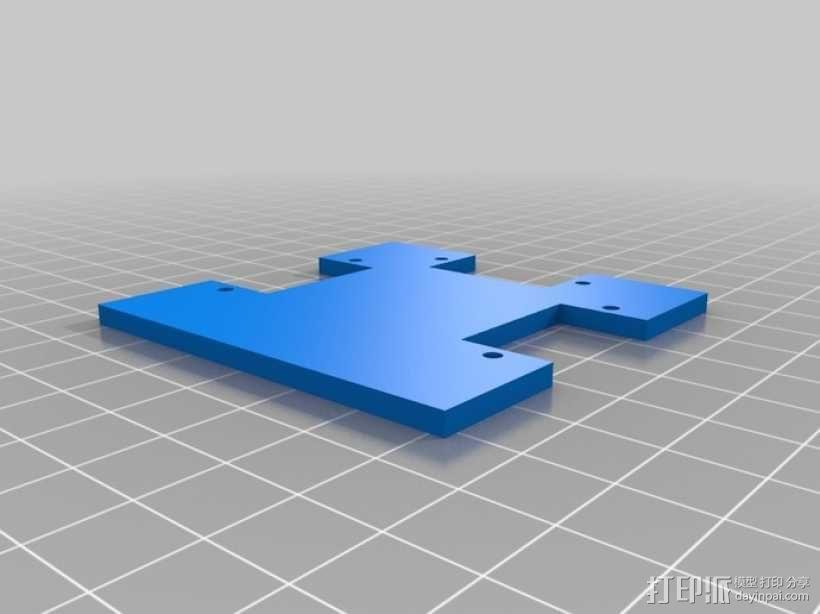 Arduped双足机器人 3D模型  图2