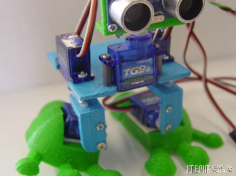Arduped双足机器人 3D模型  图1